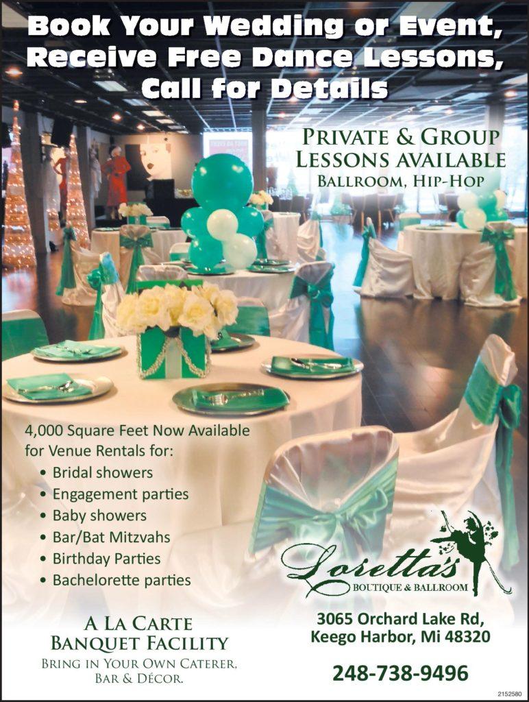 host an event loretta s dance boutique ballroom