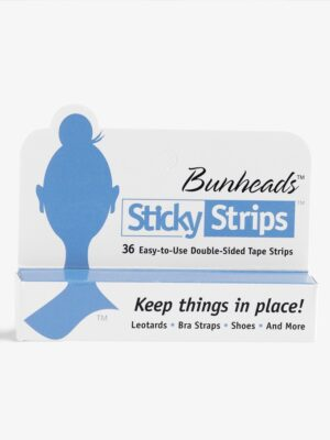 bunheads 2-sided sticky tape strips