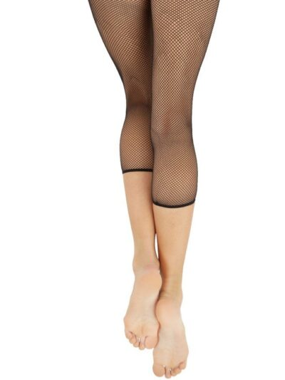 capezio crop studio fishnet dance tights 3409