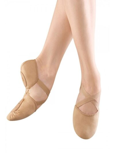 Bloch ES0251 Elastosplit X Canvas Adult Ballet Slippers