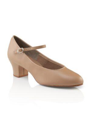 capezio suede sole jr footlight character dance shoe