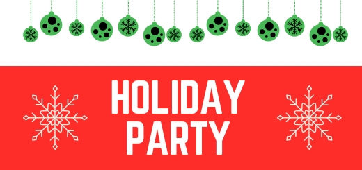 holiday dance party announcement